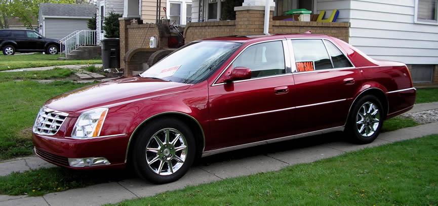 Тюнинг автомобиля Cadillac DTS