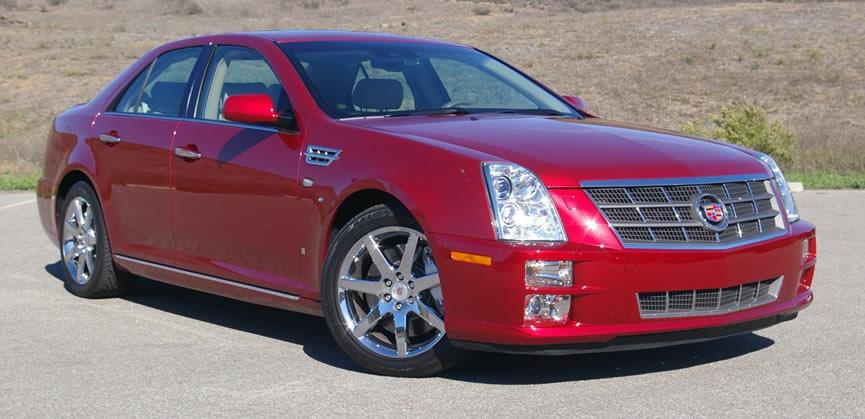 Тюнинг и сервис автомобиля Cadillac STS